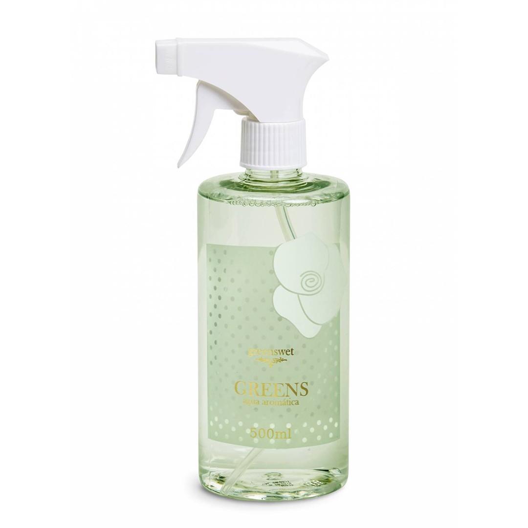 Água Aromática Para Tecidos Greens | Linha Casa Perfumada Formosinha