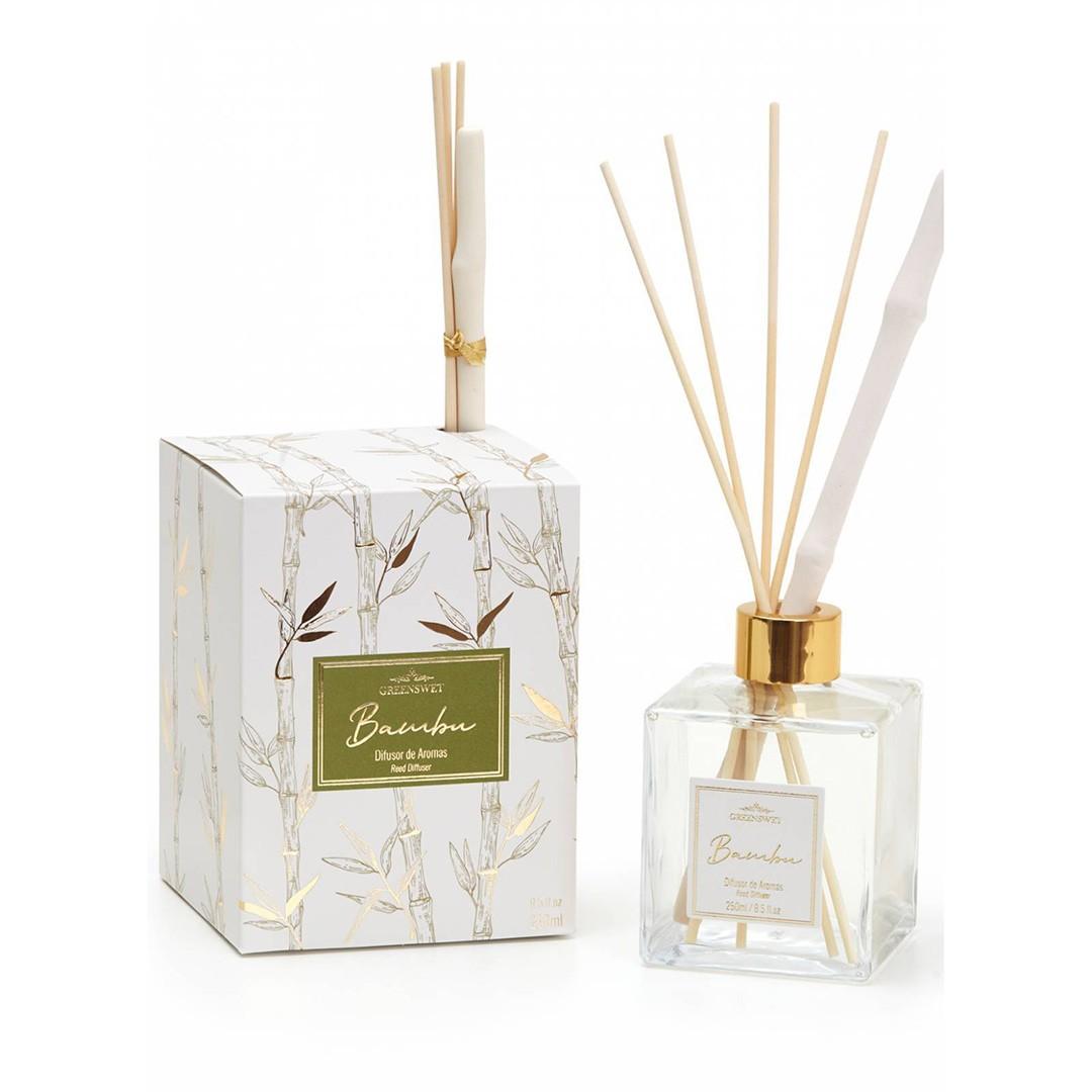 Aromatizador Difusor Bambu | Linha Casa Perfumada Formosinha
