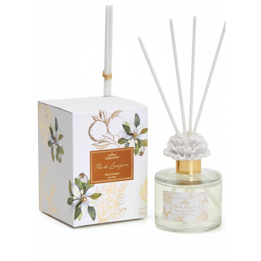Aromatizador Difusor Flor de Laranjeira | Linha Casa Perfumada Formosinha
