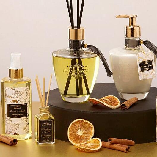 Aromatizador Difusor Mandarina com Canela | Linha Casa Perfumada Formosinha