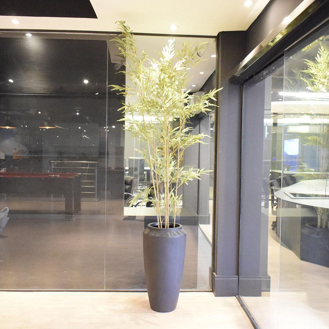 Árvore Artificial Bambu 210cm | Linha Permanente Formosinha