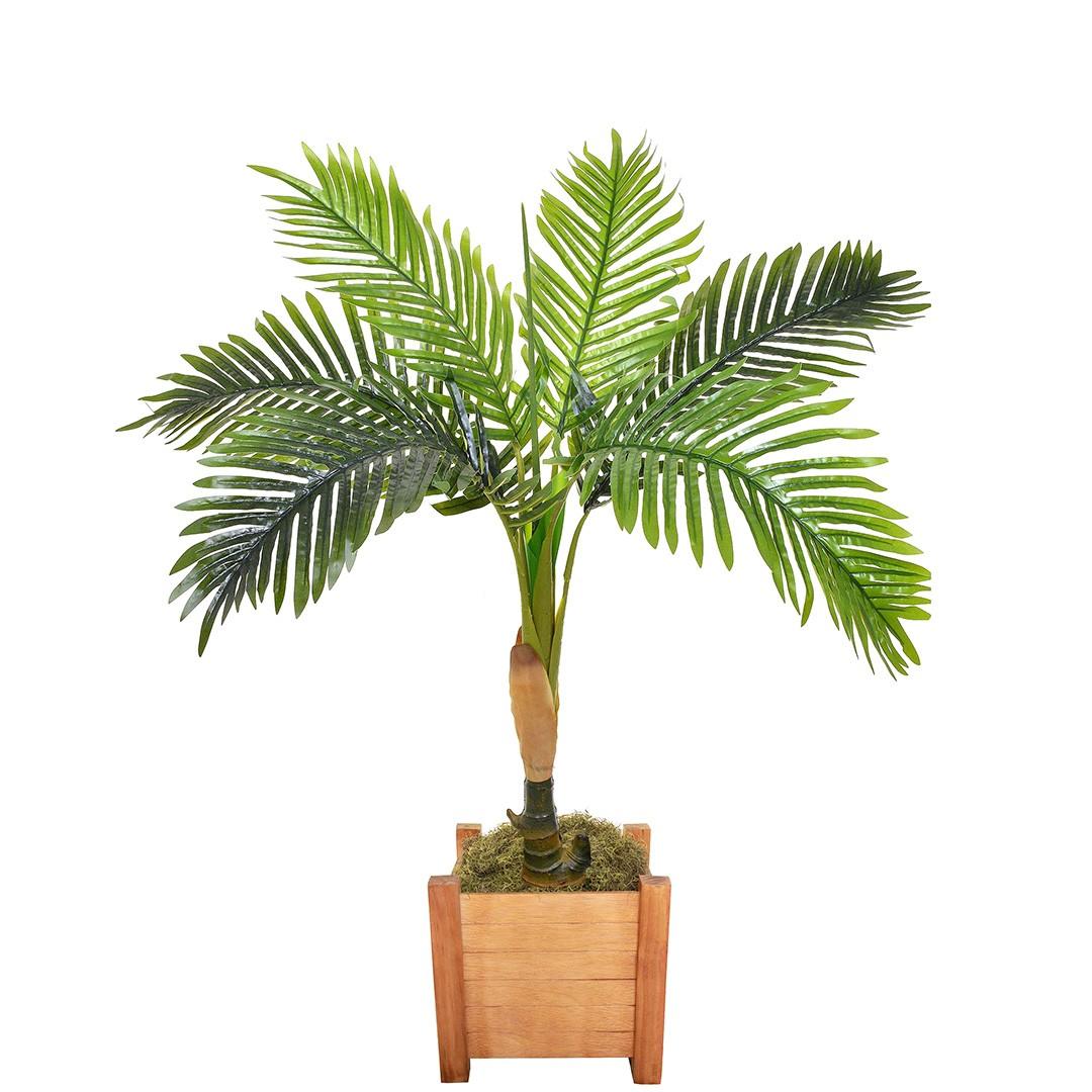 Árvore Artificial Palmeira 150cm Verde | Linha Permanente Formosinha