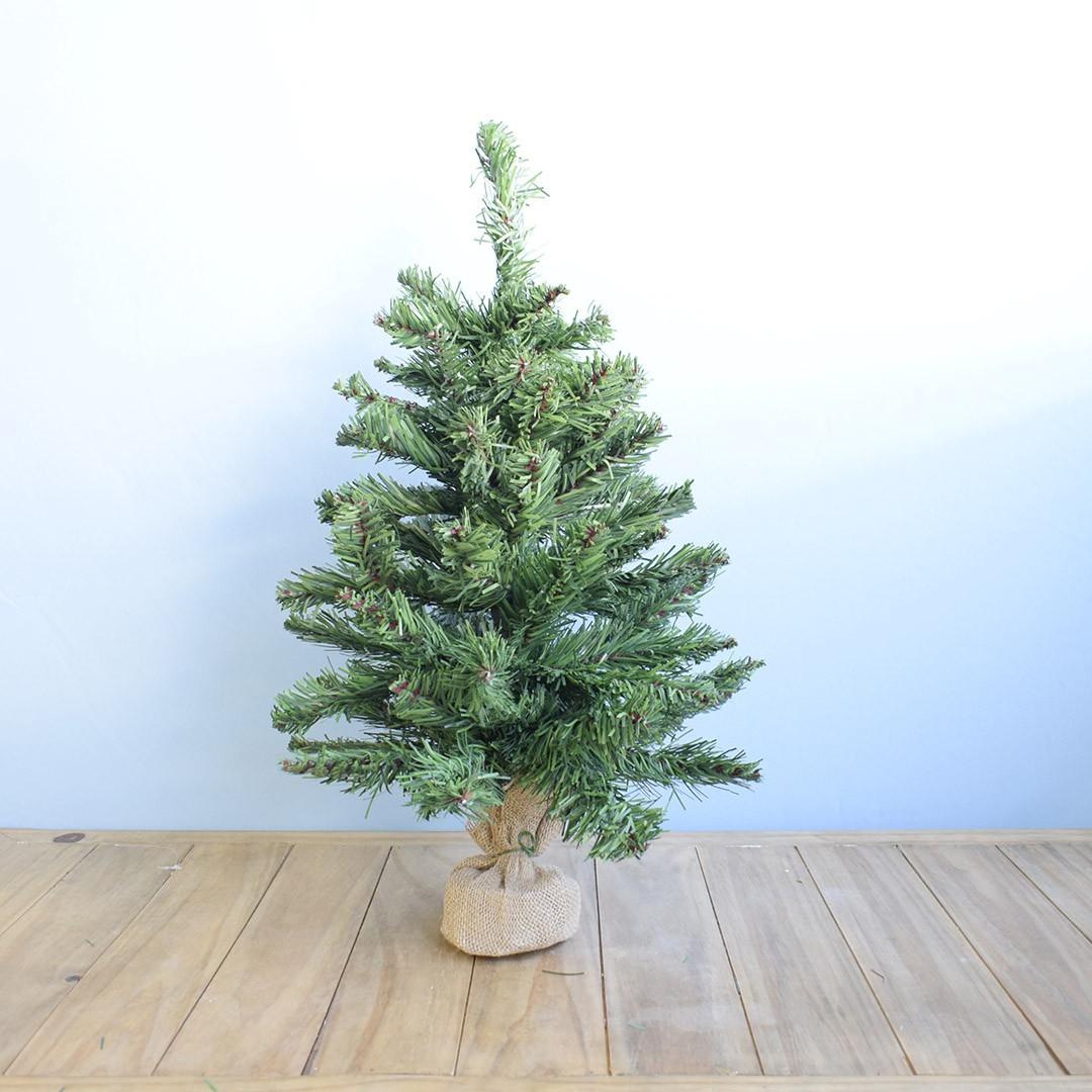 Árvore de Natal com Juta 60cm   Natal Encantado Formosinha