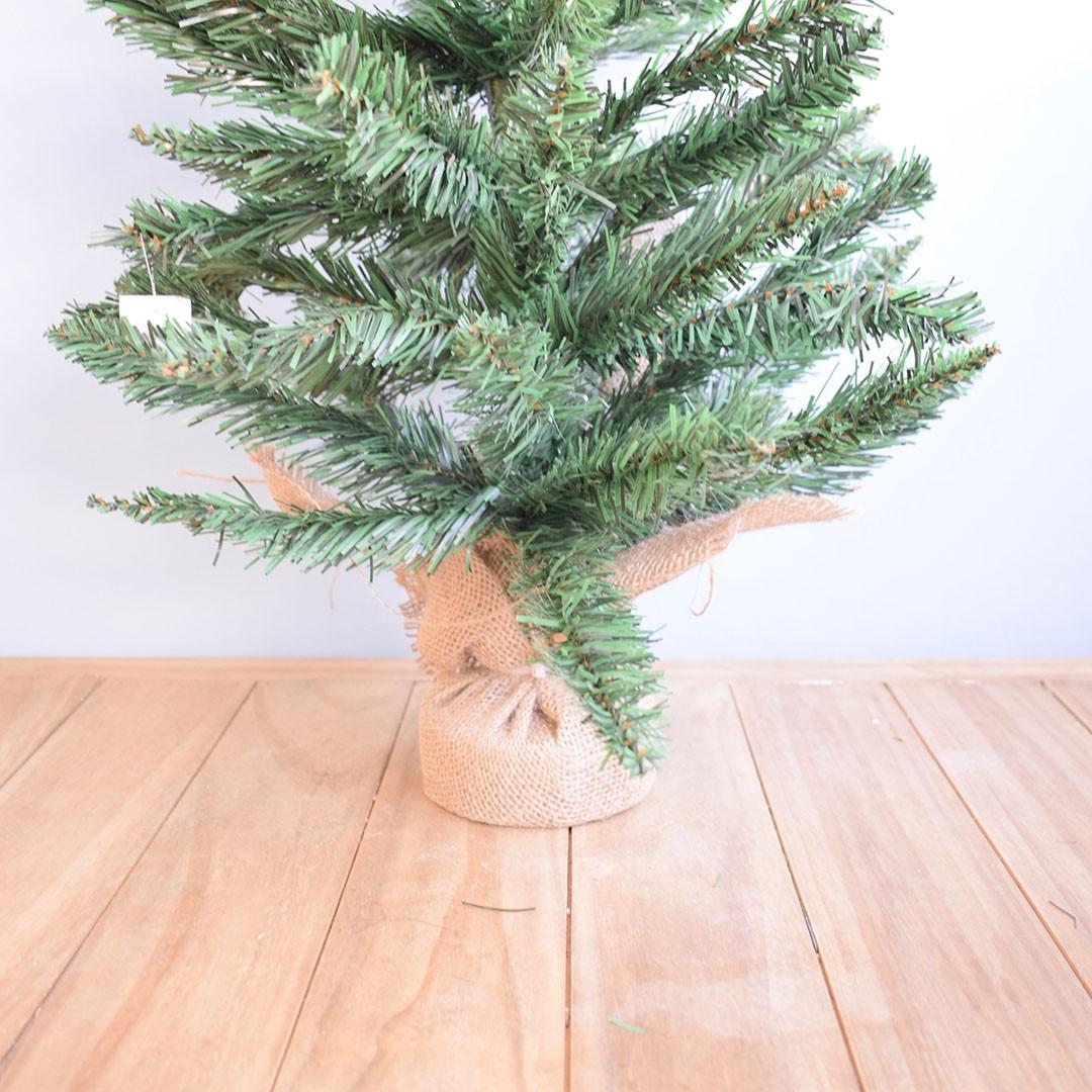 Árvore de Natal com Juta 90cm | Linha Natal Encantado Formosinha
