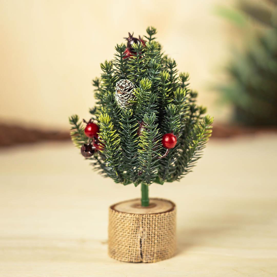 Árvore de Natal Decorada 19cm | Formosinha