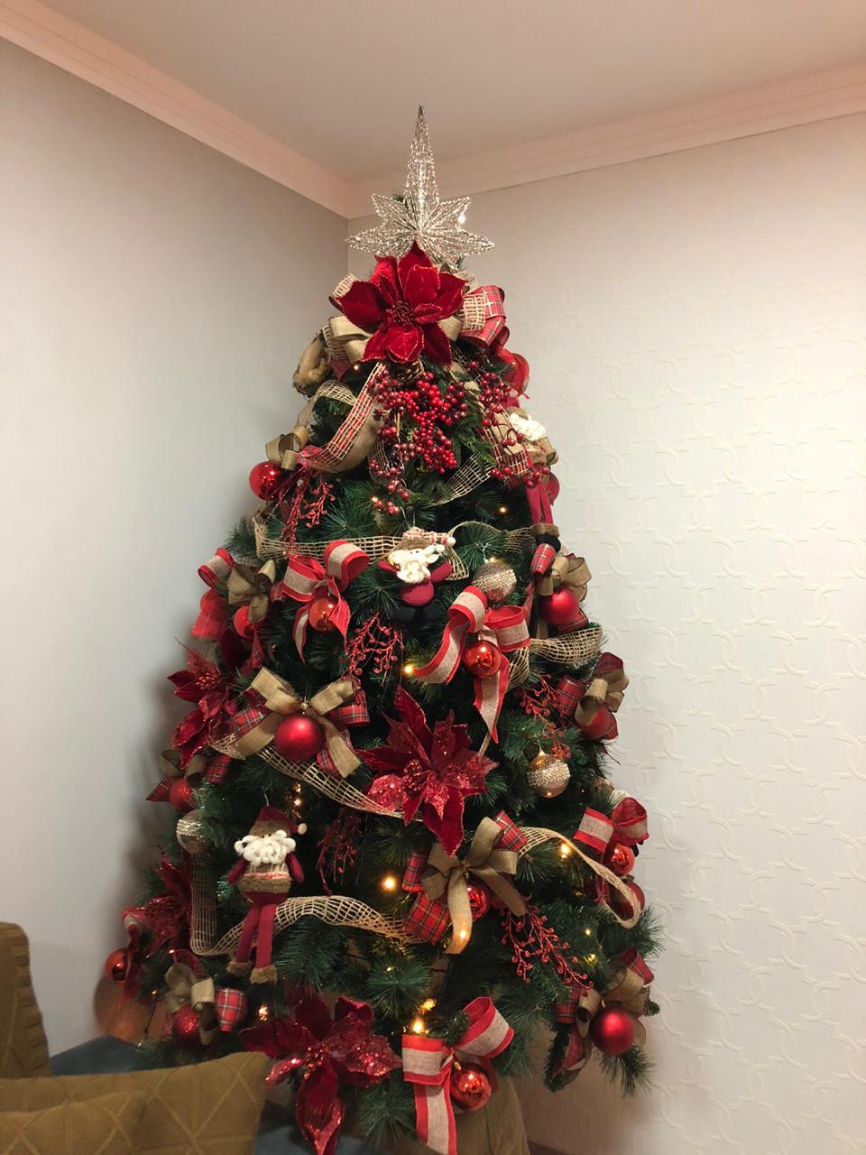 Árvore de Natal Gigante Genebra 240 cm 1466 galhos| Formosinha