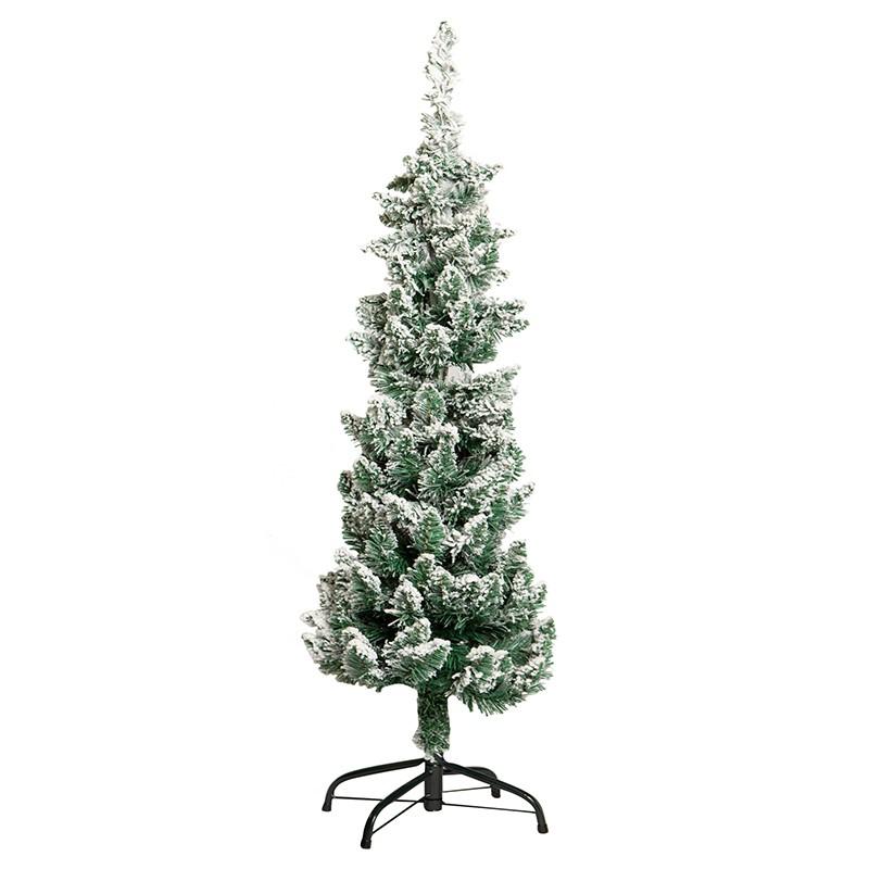 Árvore de Natal Hiver Blanc Nevada 120cm | Linha Natal Encantado Formosinha