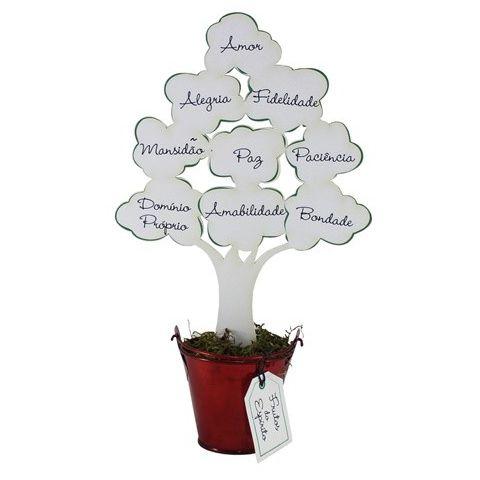 Árvore Frutos do Espírito Branco Grande
