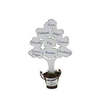 Árvore Frutos do Espírito Branco Pequena