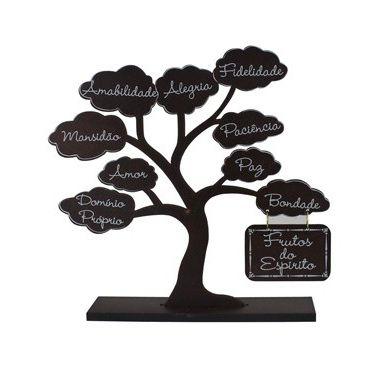 Árvore Frutos Do Espírito Marrom