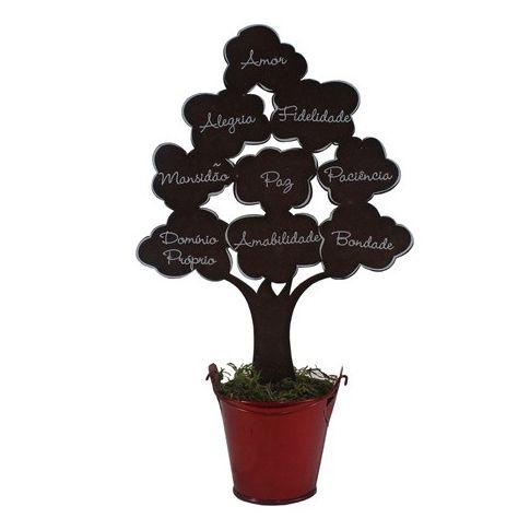 Árvore Frutos do Espírito Marrom Grande