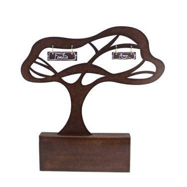Árvore Uma Família É Como Galhos Marrom