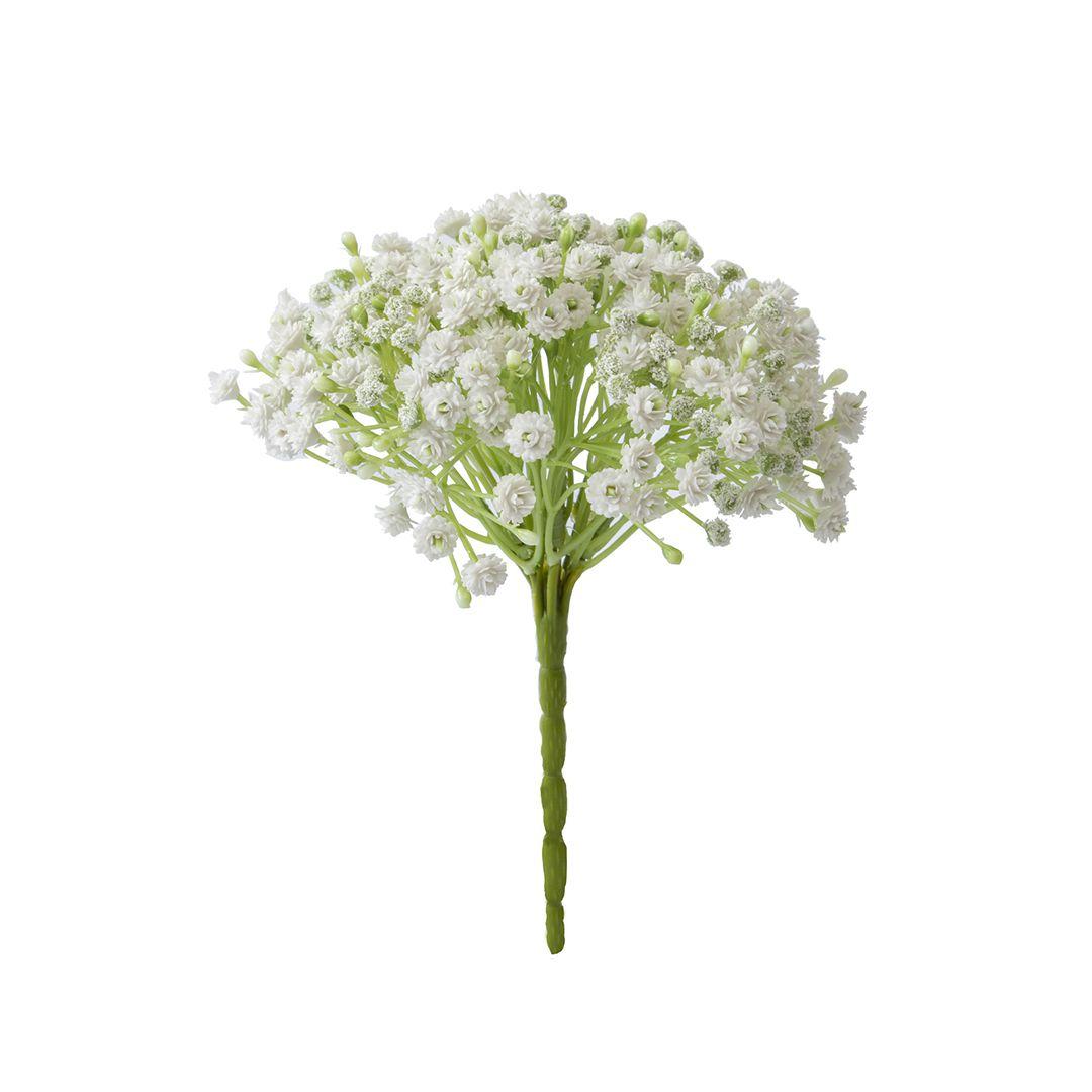 Buquê De Flores Artificiais de Mosquitinho Branco | Linha Permanente Formosinha