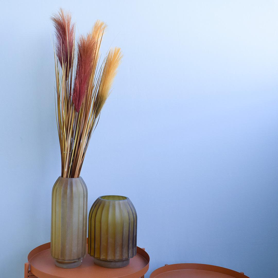 Buque com 2 Plumas Marsala e Folhas Outonadas | Formosinha