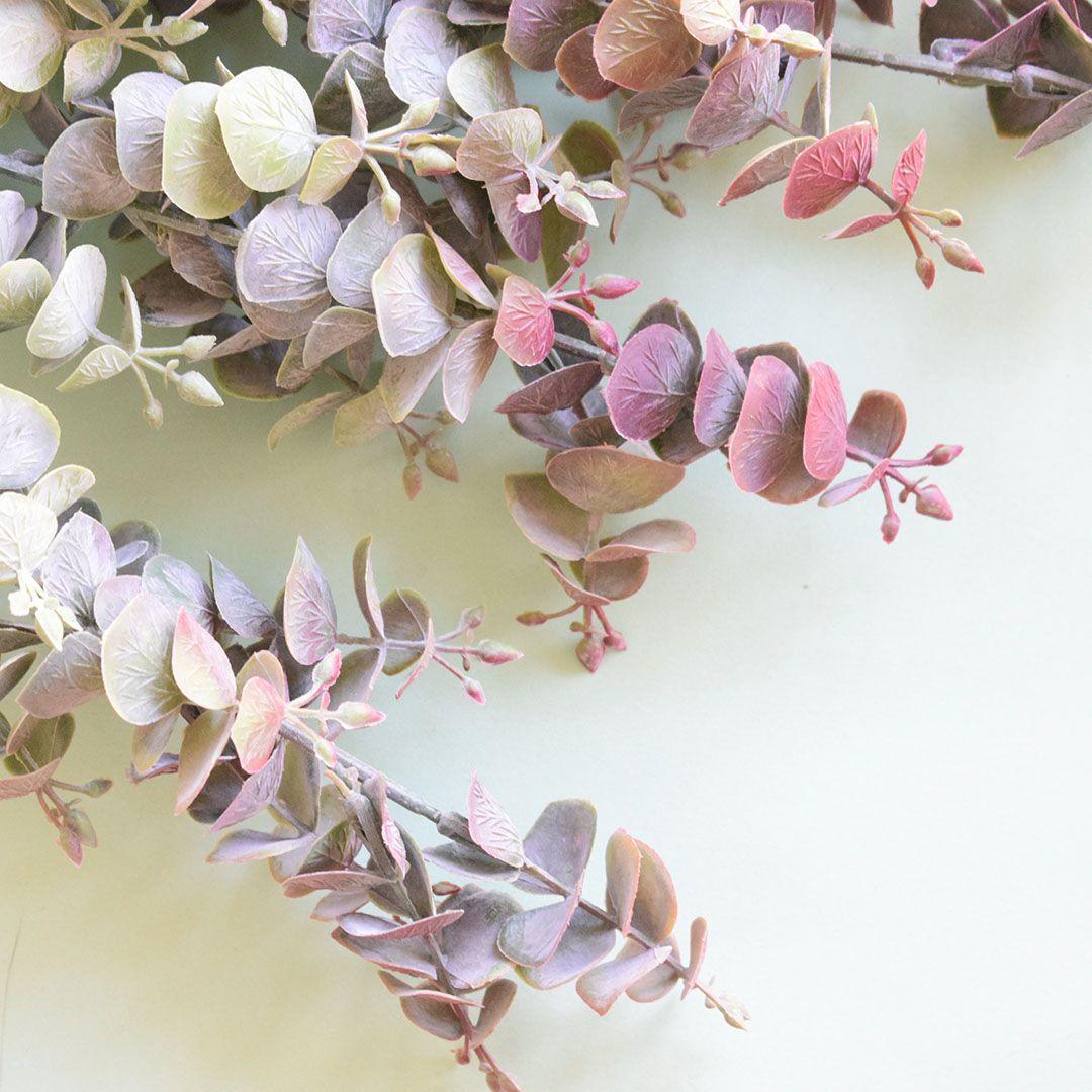 Buquê de Flores Eucalipto Outonado Artificial | Linha Permanente Formosinha