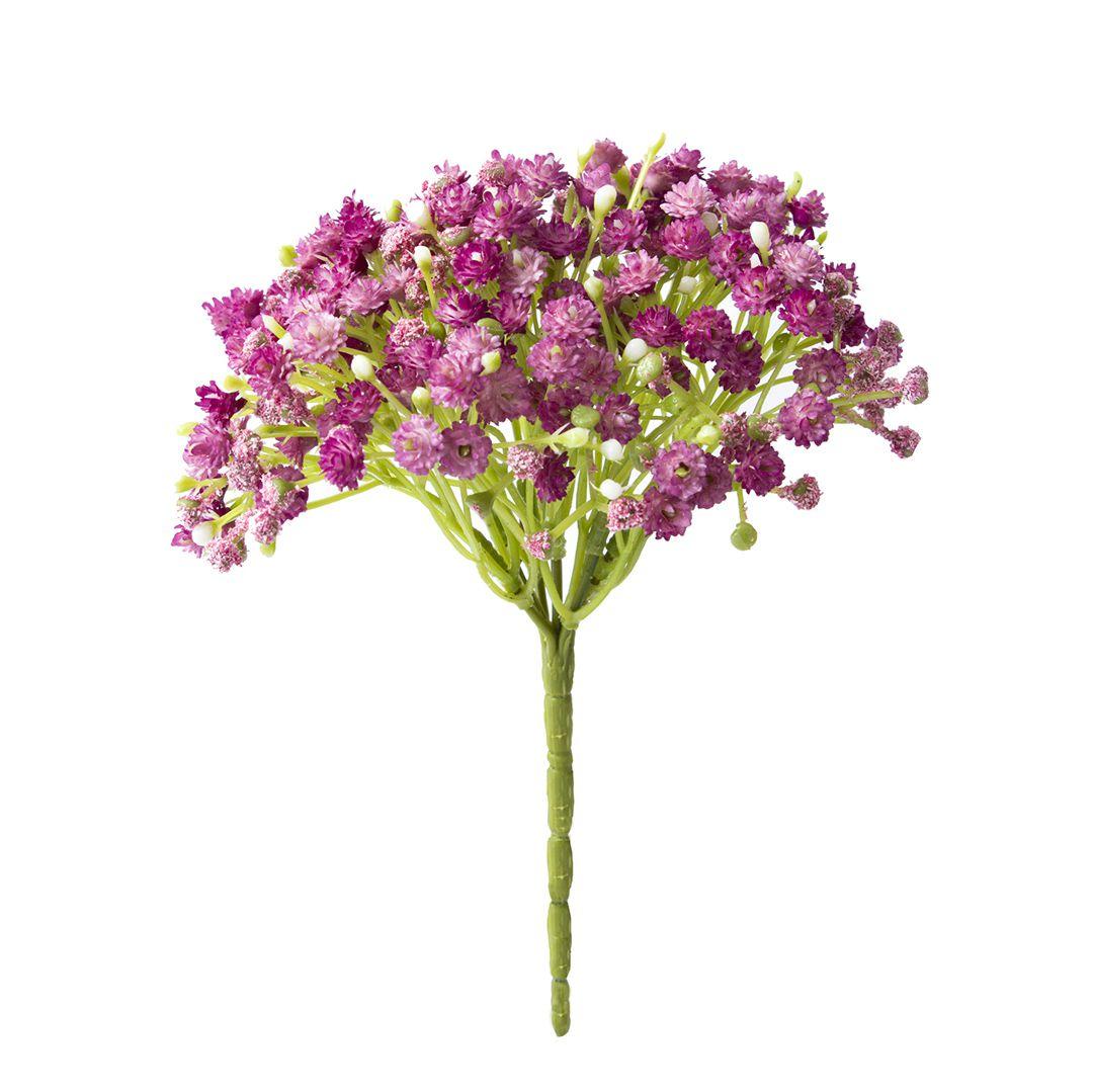 Buquê De Flores Artificiais de Mosquitinho Pink | Linha Permanente Formosinha