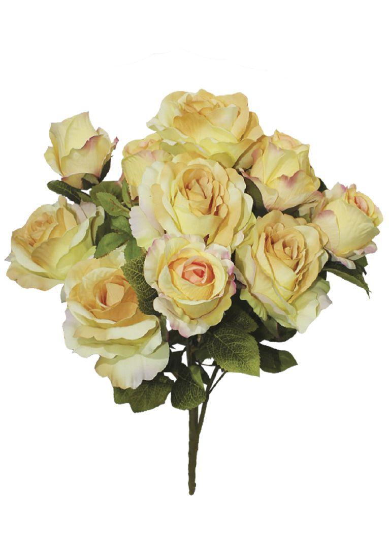 Flores artificiais Buquê de Rosas Sofia Amarelo|Linha permanente Formosinha
