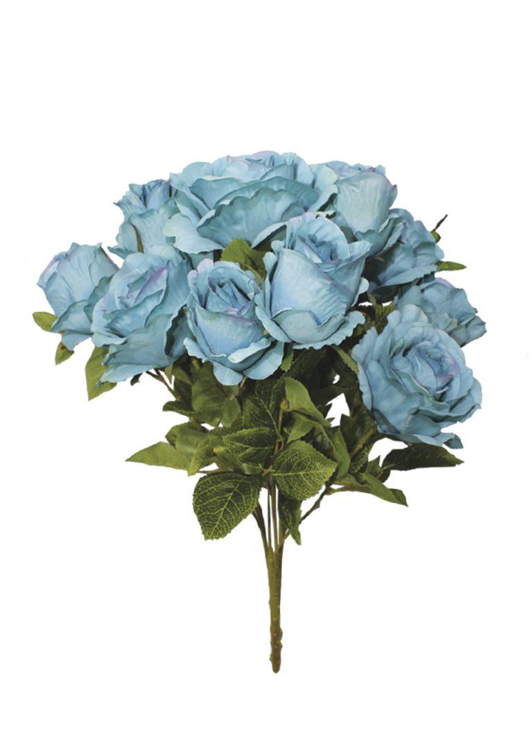 Buquê de Rosas Sofia Azul Artificial