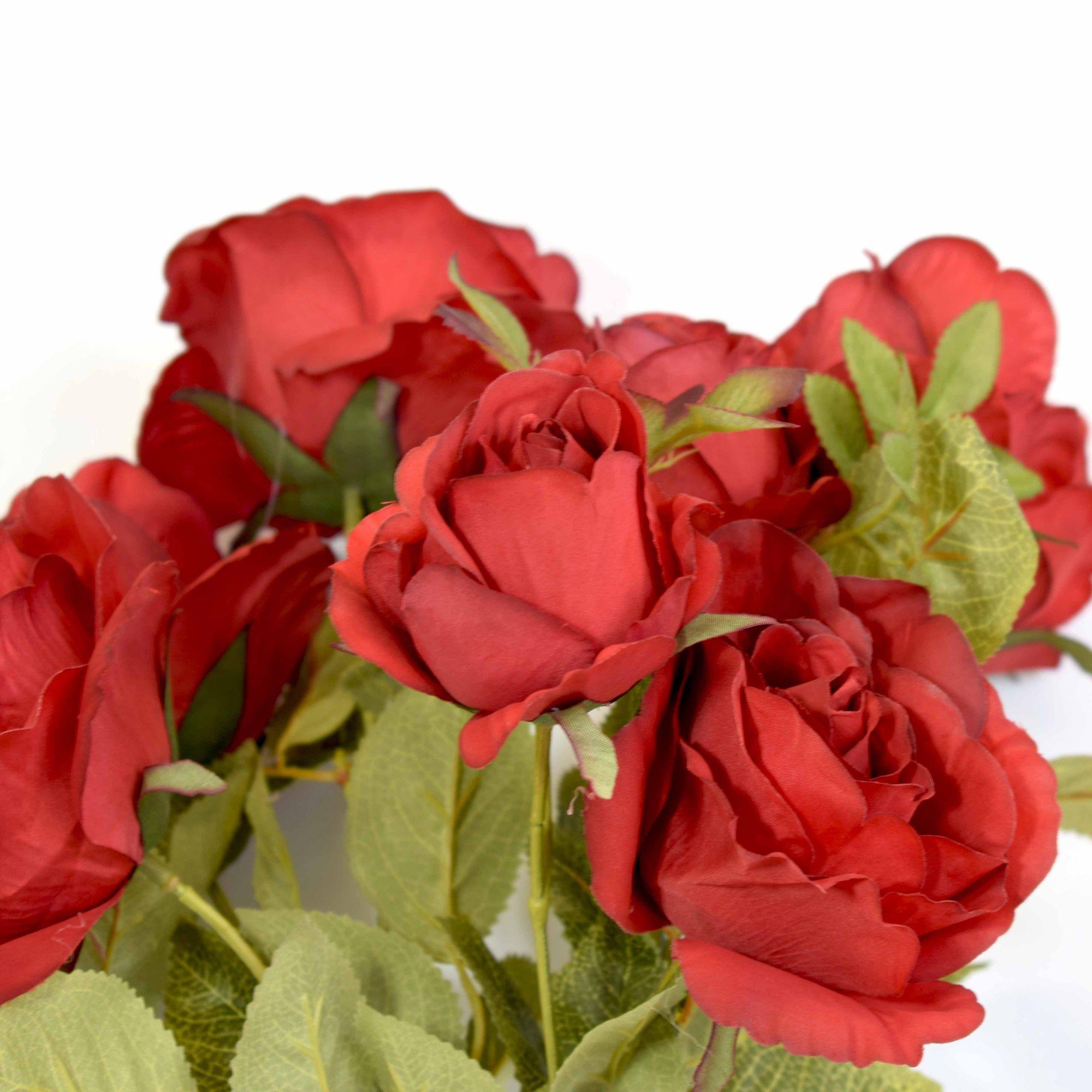 Flores artificiais Buquê de Rosas Sofia Vermelho|Linha permanente Formosinha