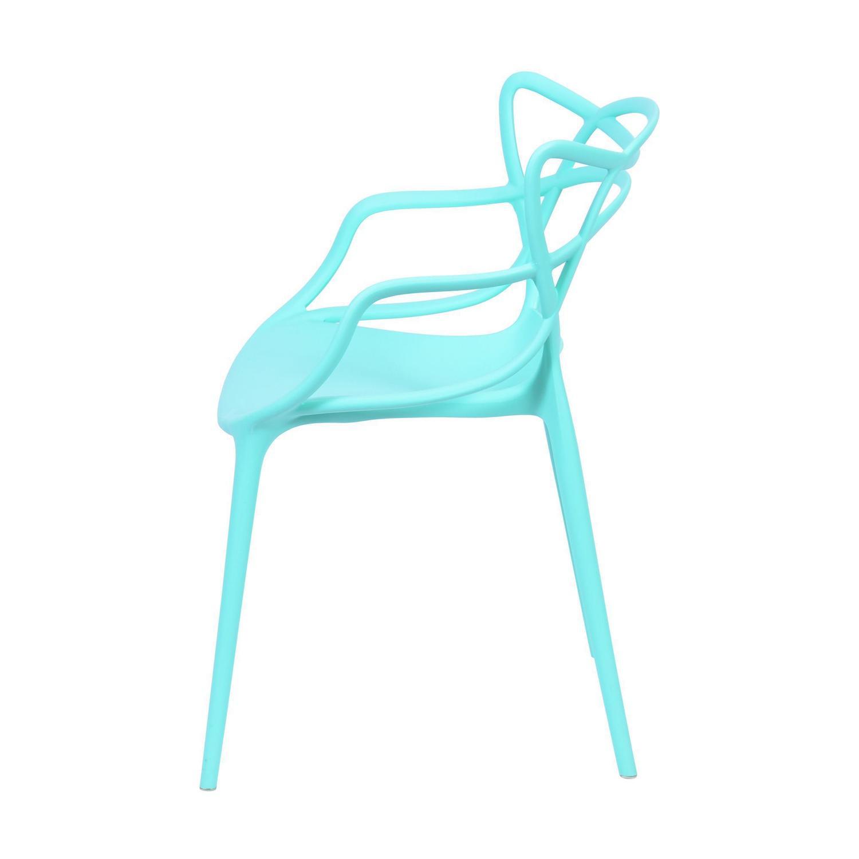 Cadeira Allegra Azul Tiffany