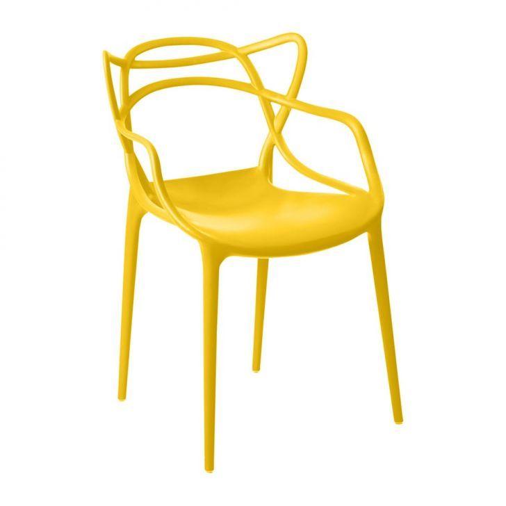 Cadeira Allegra Infantil Amarela
