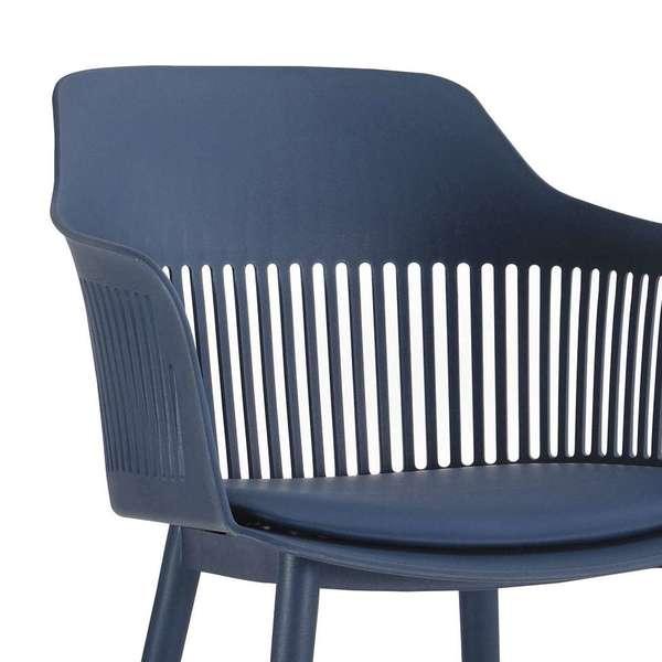 Cadeira West Azul Marinho