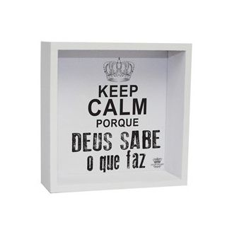 Caixa Organizadora Keep Calm