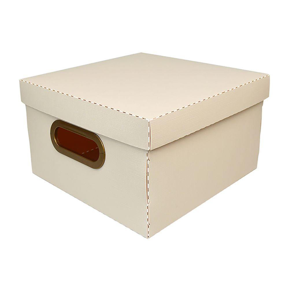 Caixa Organizadora Rosa Claro Pequeno | Linha Organize Formosinha