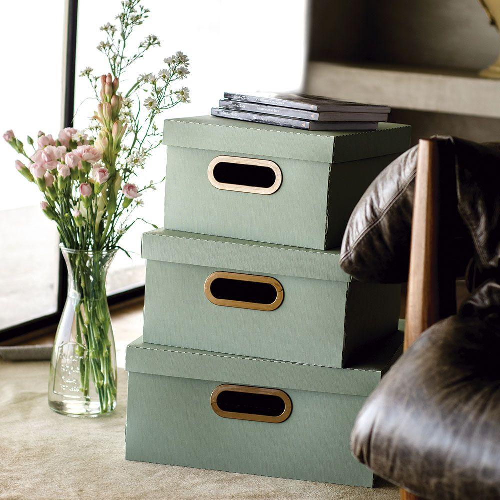 Caixa Organizadora Verde Claro Grande | Linha Organize Formosinha