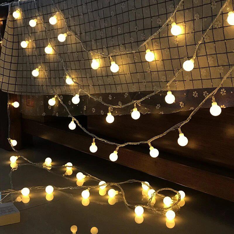 Cordão de Luz LED com 40 Lâmpadas 6m 110V | Formosinha