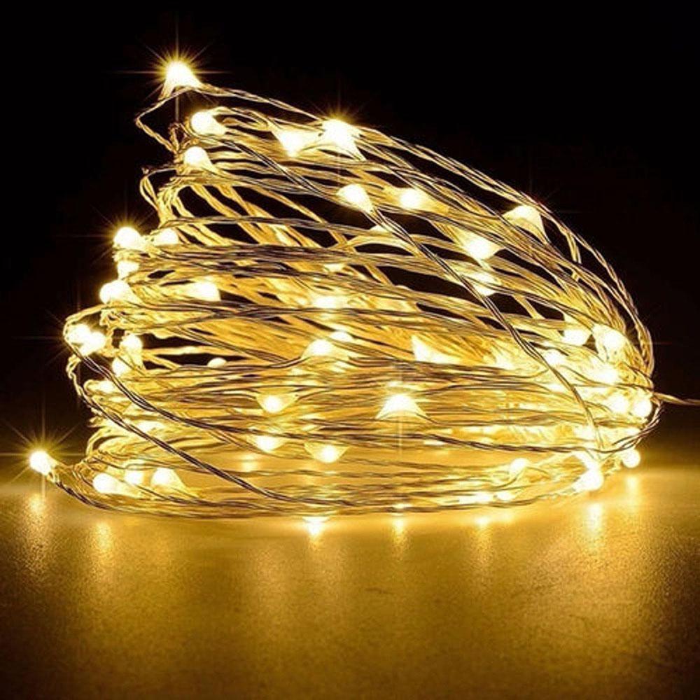 Cordão Fio de Fada LED com 50 Lâmpadas 5m | Formosinha