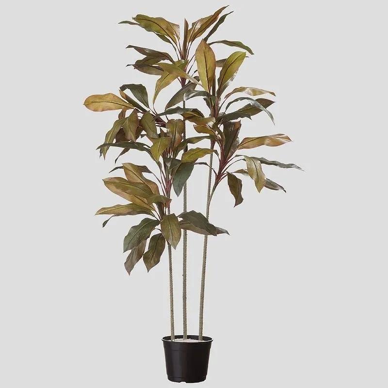 Árvore Artificial Cordyline 170cm com 3 troncos | Linha Permanente Formosinha
