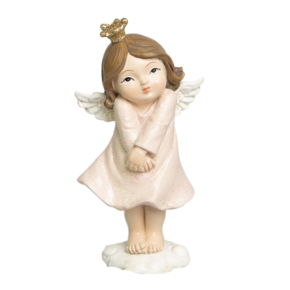 Enfeite de Natal de Resina Anjinha 11cm | Linha Natal Encantado Formosinha