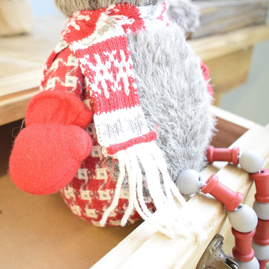 Enfeite de Natal Esquilo com Perninhas de Miçanga | Natal Formosinha