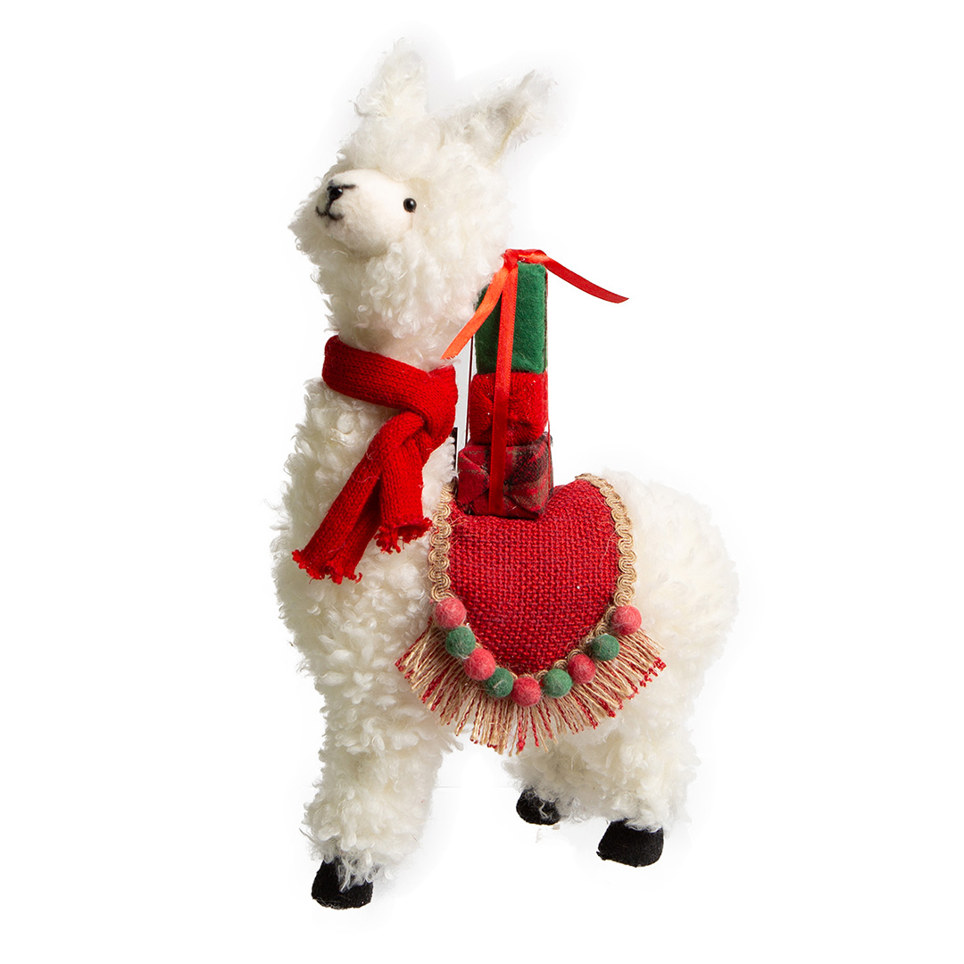 Enfeite de Natal Lhama Bella | Natal Formosinha
