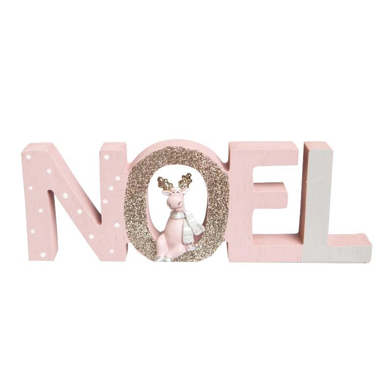 Enfeite de Natal Noel Polly Rosa | Linha Natal Encantado Formosinha