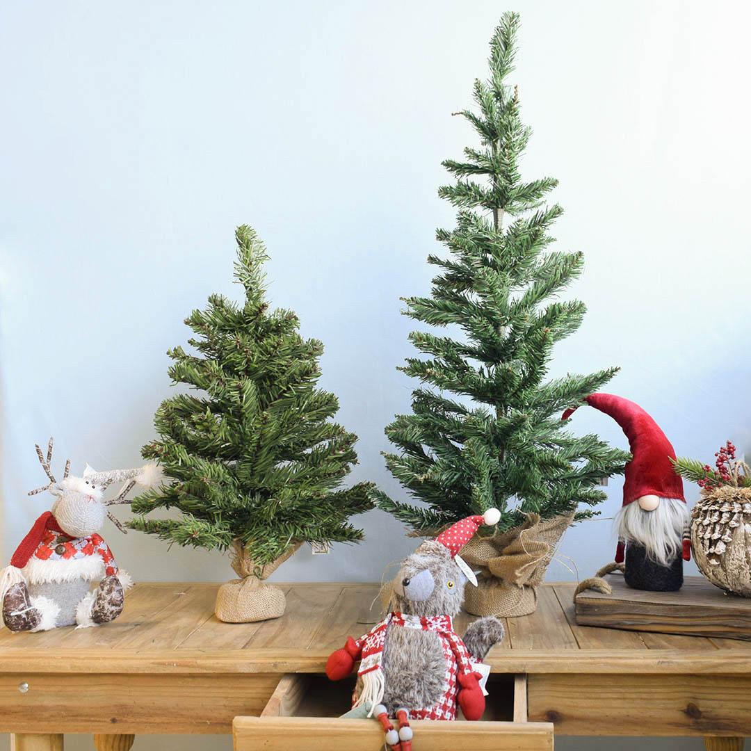 Enfeite de Natal Rena de Tricô com Cachecol | Linha Natal Encantado