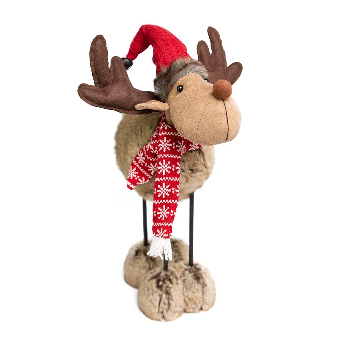 Enfeite de Natal Rena Soffy 44cm | Linha Natal Encantado Formosinha
