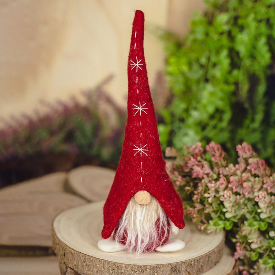 Enfeite Natal Papai Noel 28cm Vermelho | Natal Formosinha