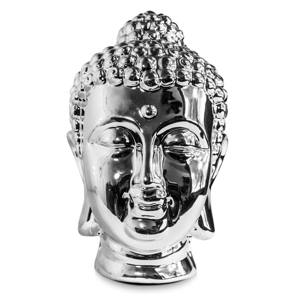 Estátua de Buda Prateado
