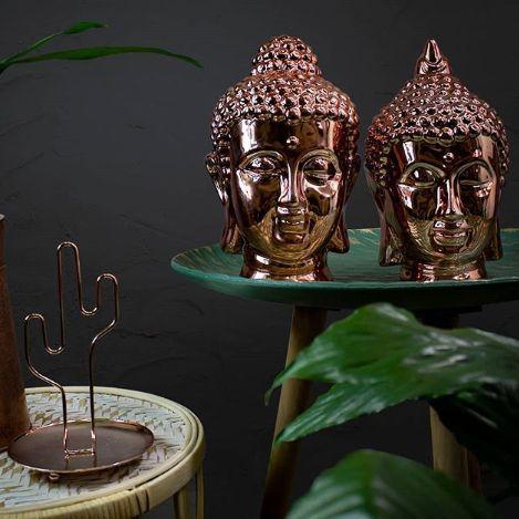 Estátua de Buda Rose Gold
