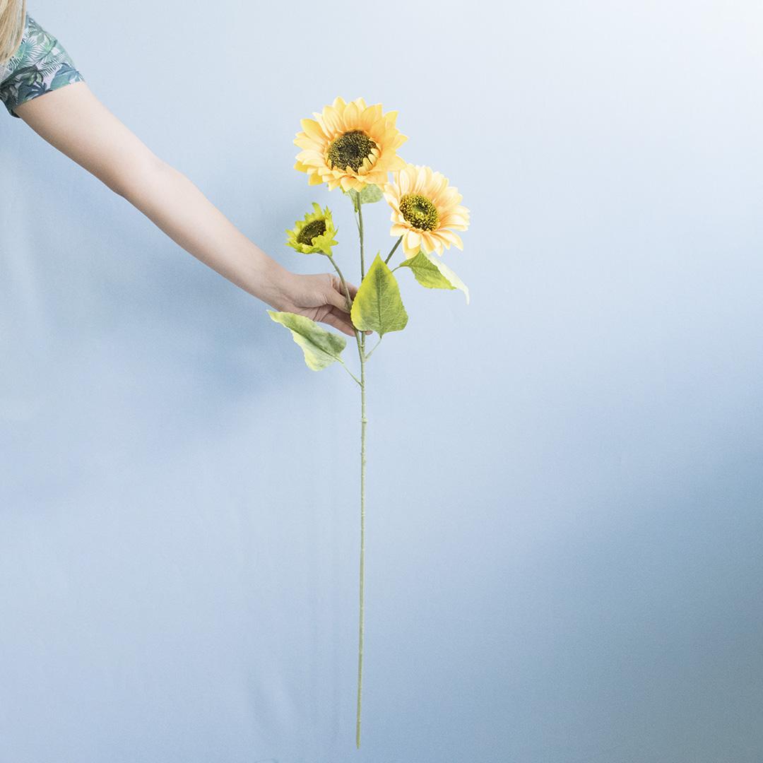 Flor Artificial Girassol  Amarelo| Linha Permanente Formosinha