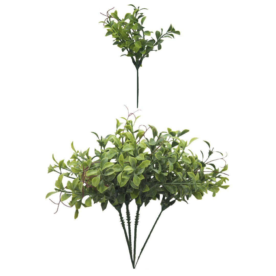Flores Artificiais Buquê de Folhagem Artificial Peperômia Toque Real | Linha Permanente Formosinha