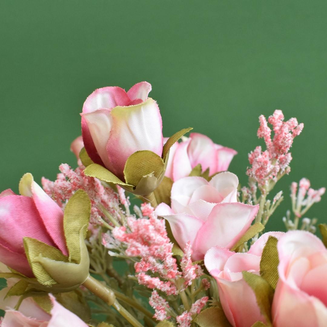 Flores Artificiais - Buquê de Mini Rosas | Linha permanente Formosinha