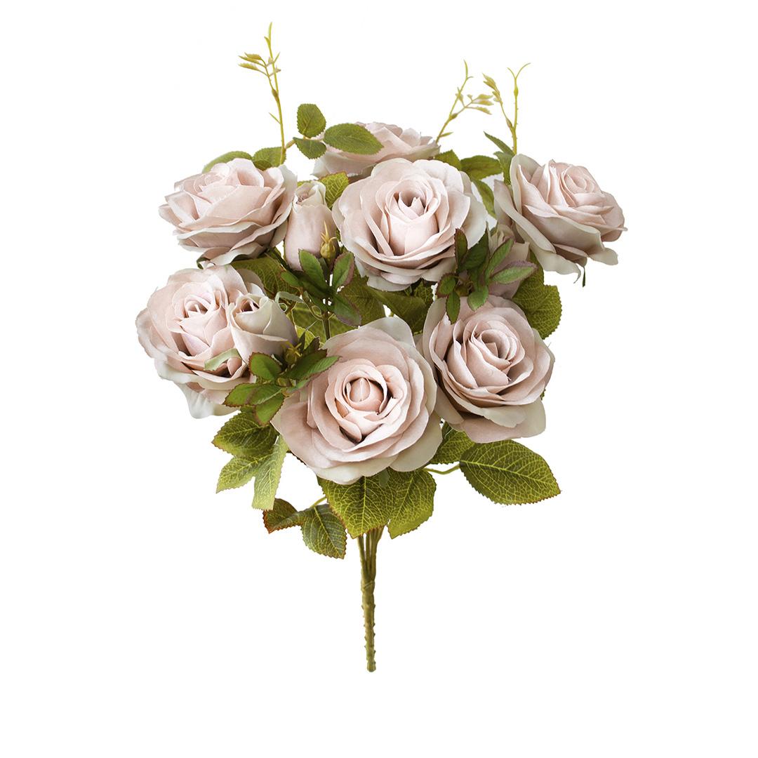 Flores Artificiais - Buquê de Rosas Diana Nude | Linha Permanente Formosinha