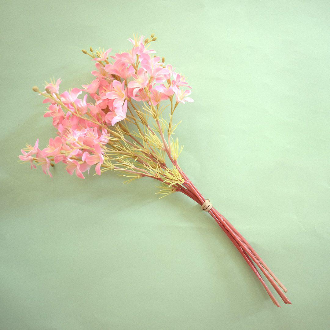 Flores Artificiais - Buquê Flor-do-Campo Rosa | Linha permanente Formosinha