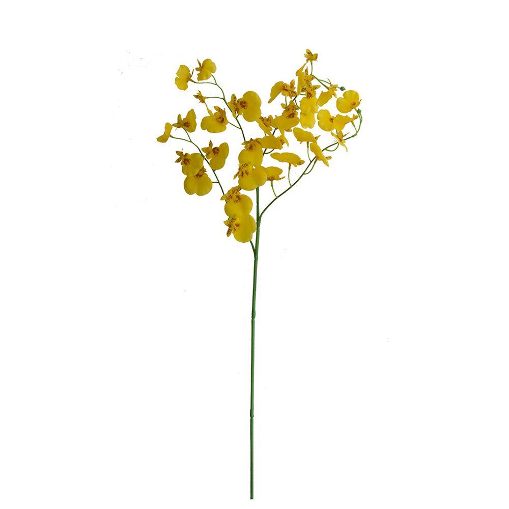 Flores Artificiais - Haste Orquídea Dançante De Silicone | Linha permanente Formosinha