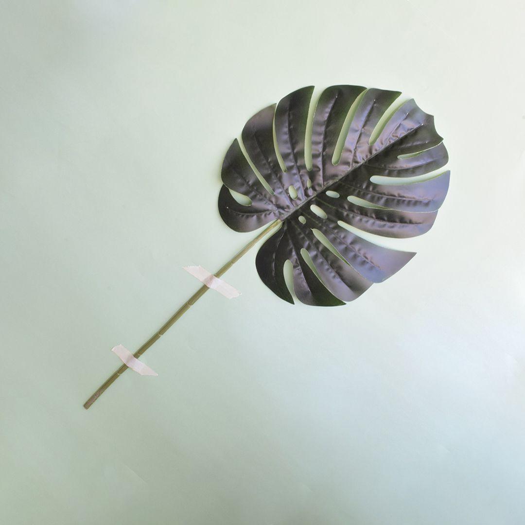 Costela de Adão de Silicone | Folha Artificial Formosinha
