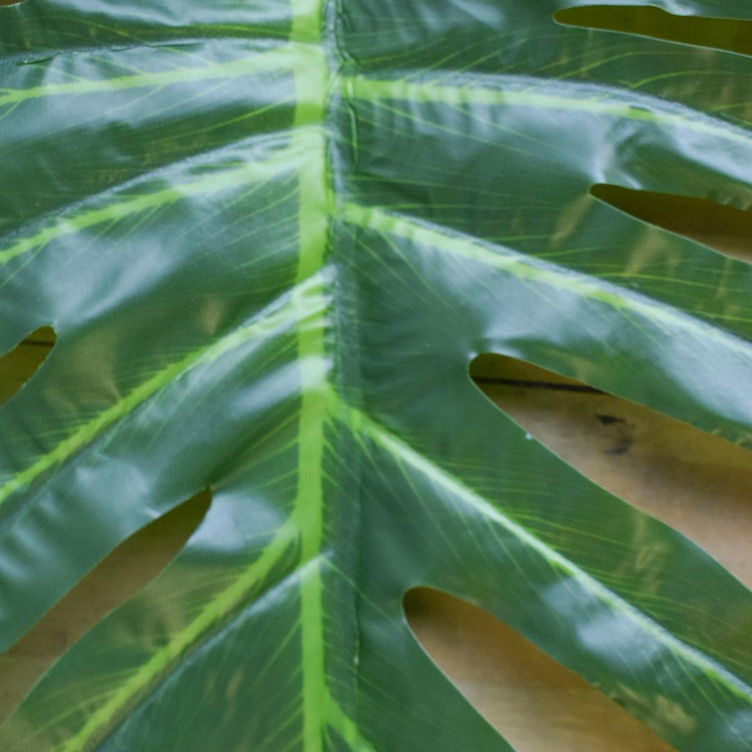 Folha Artificial Guaimbê de Silicone | Folha Artificial Formosinha