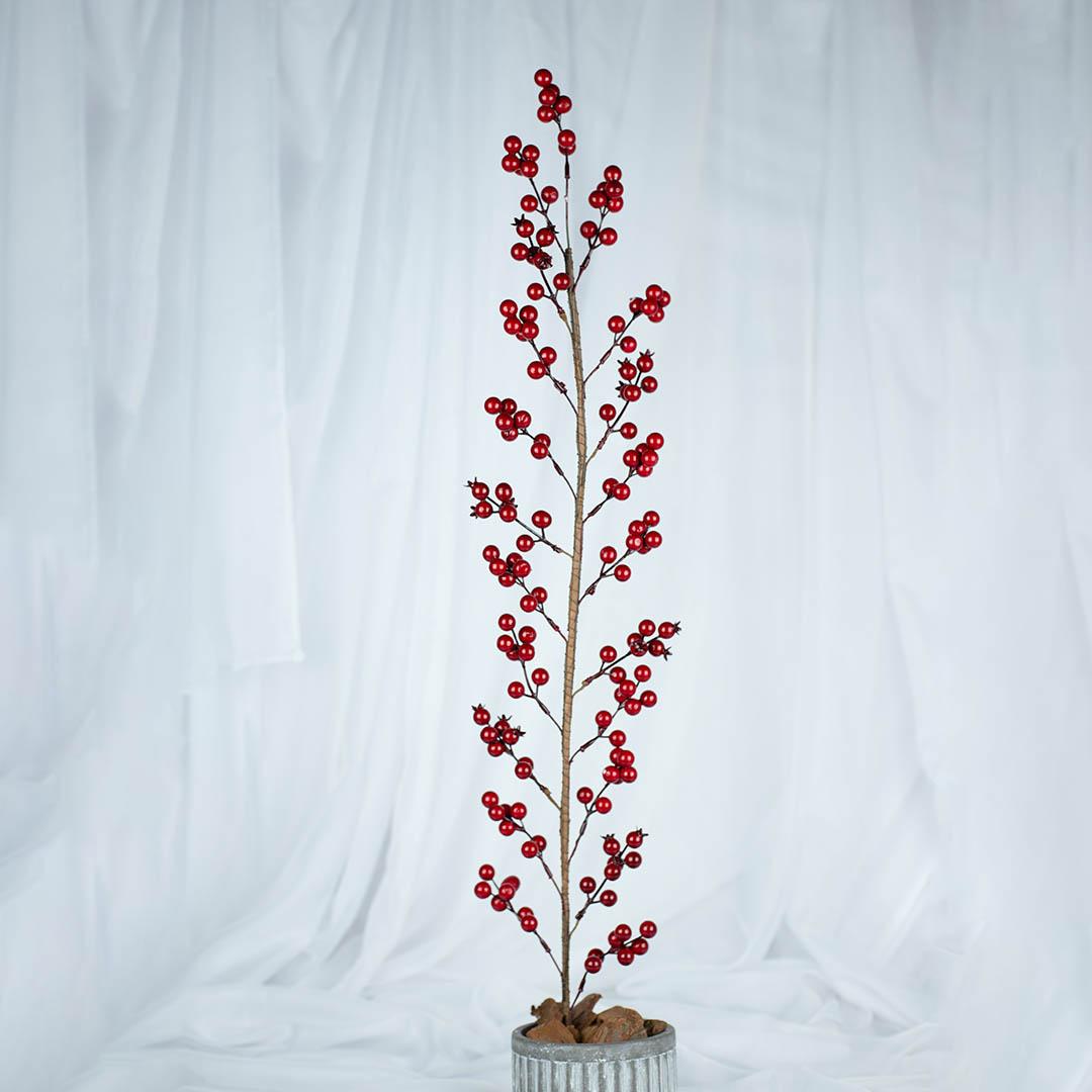 Haste Artificial de Berry 90cm | Natal Formosinha